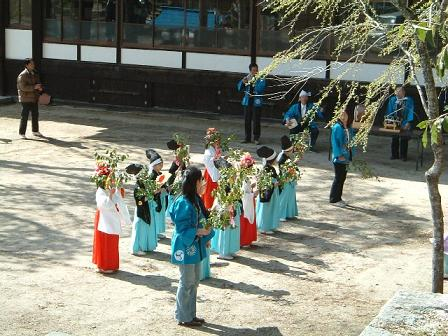 下清内路諏訪神社春季例祭