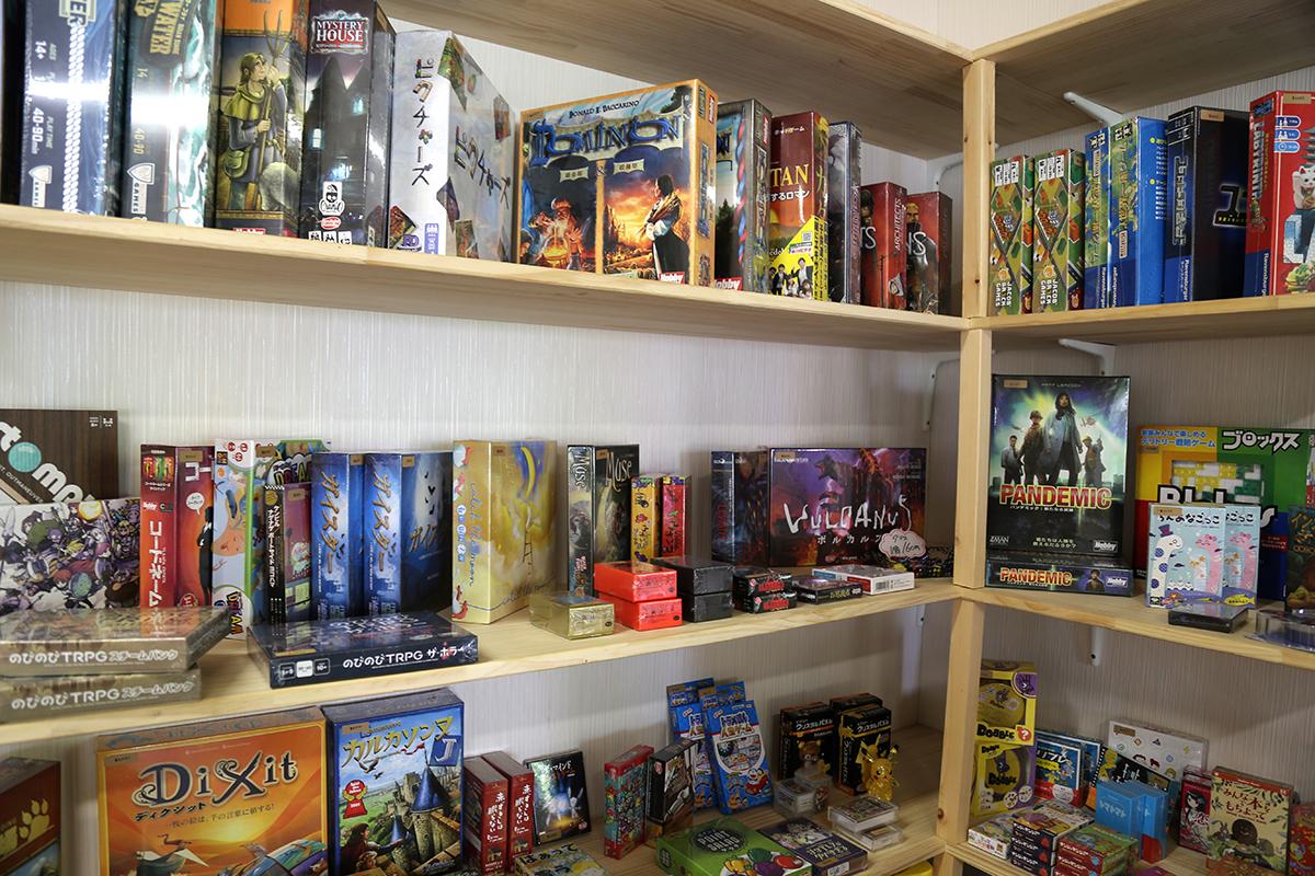 Marche & Board Games Shop MOMOiro